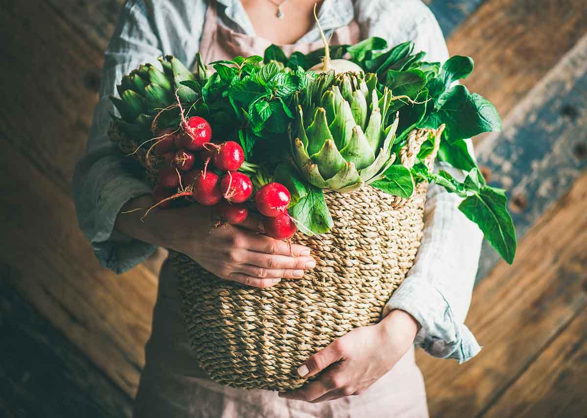 verduras primavera