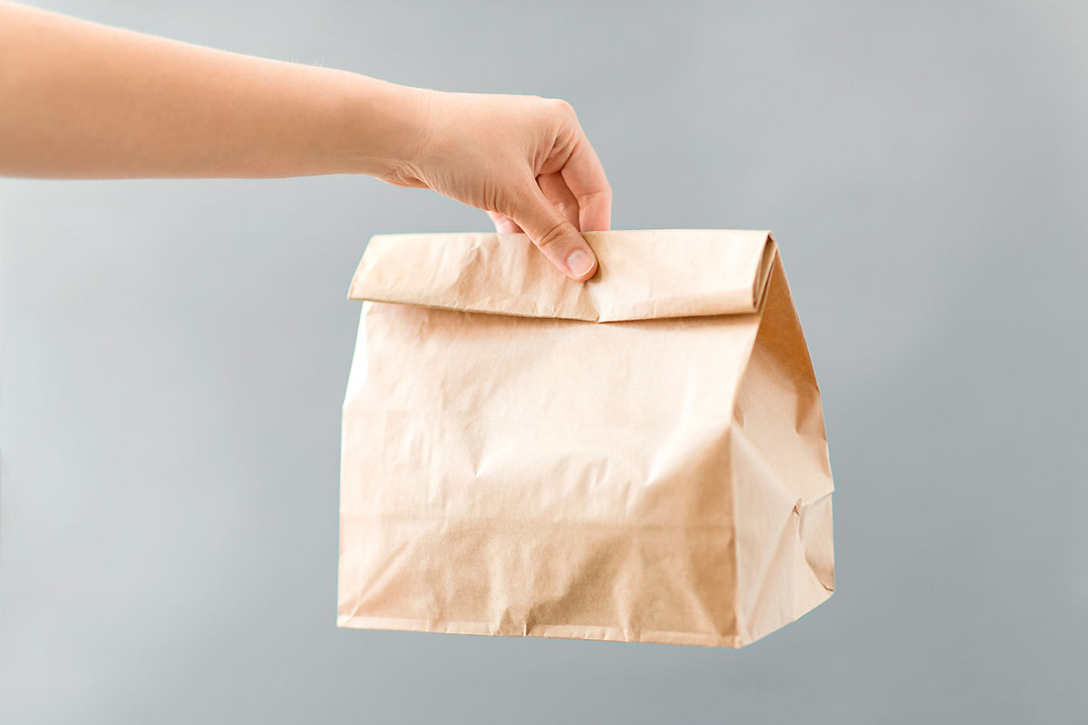 Bolsa comida para llevar