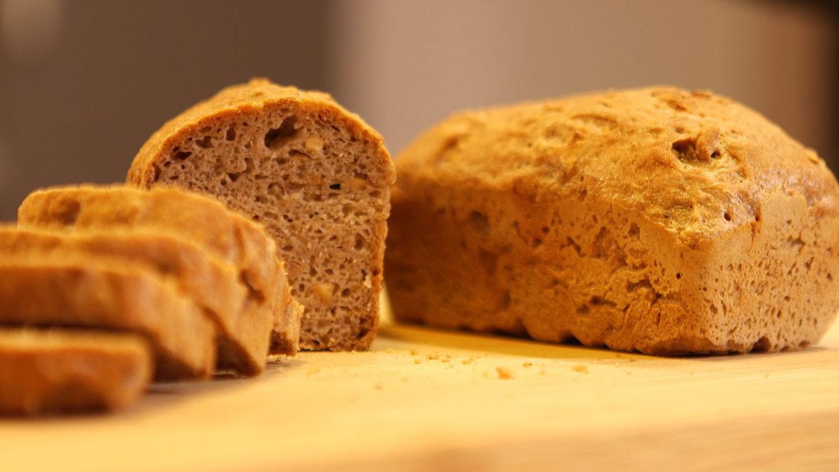 Este es uno de los panes sin gluten que aprenderás en el 'Reto 21 días sin gluten'