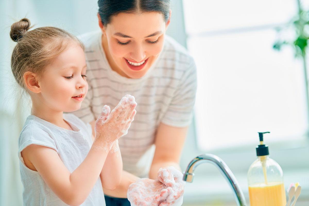 lavar manos con cosmètica natural