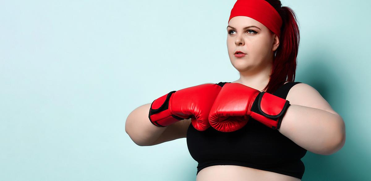 obesidad y cánones de belleza