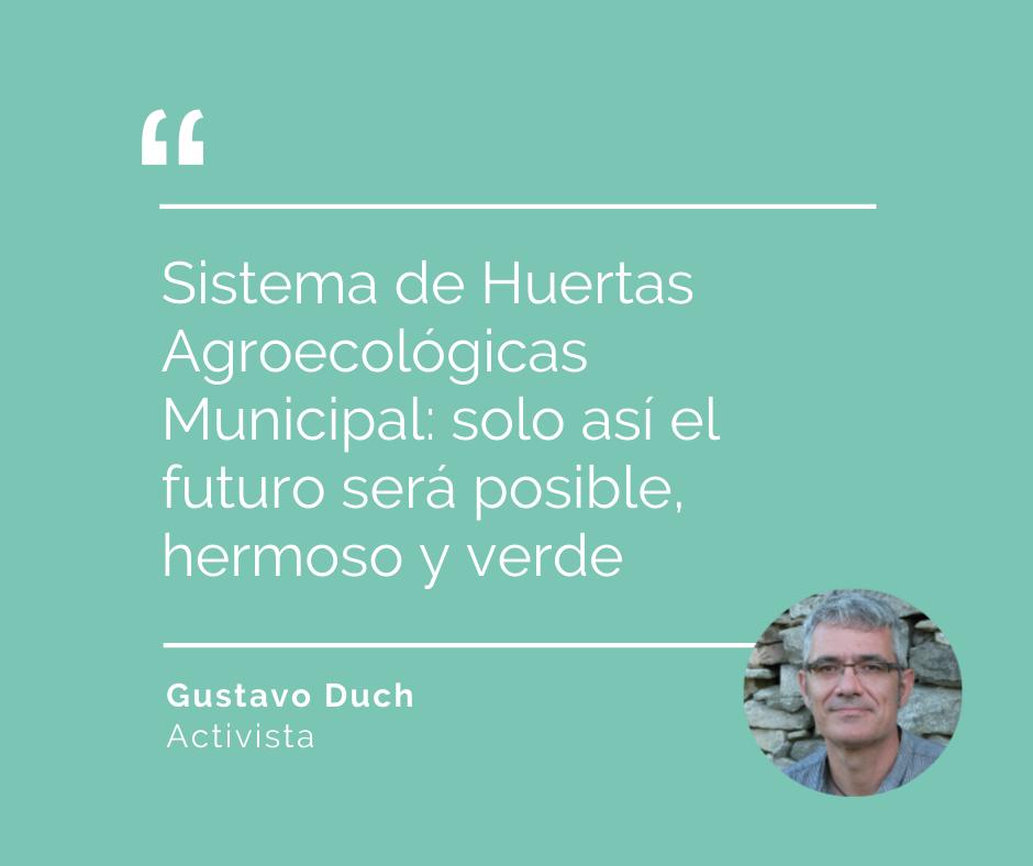 OPinión Gustavo Duch