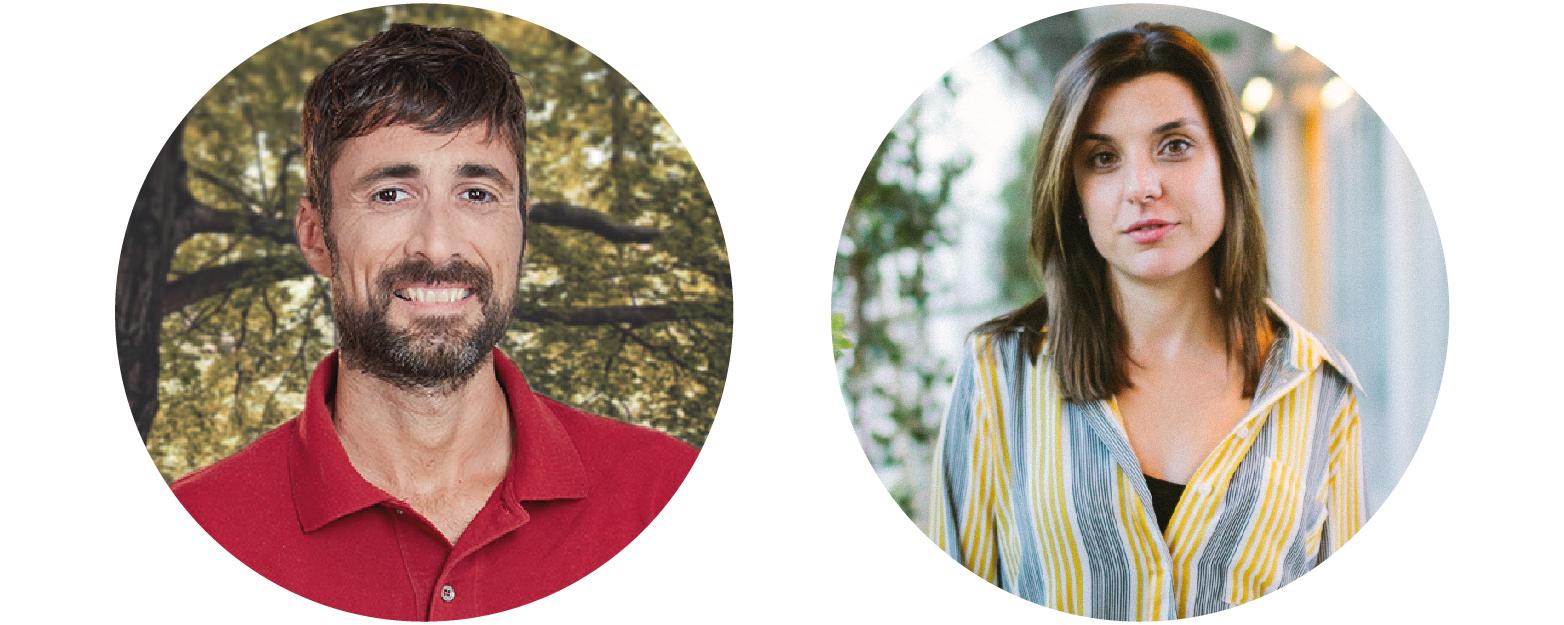 Marc Verges y Núria Coll ofrecerán charlas sobre alimentación saludable