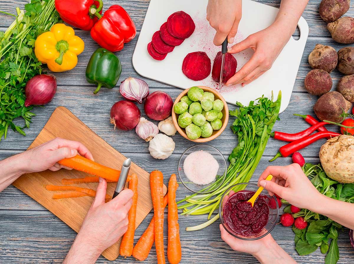 Cómo introducir als ensaladas a los ma´s pequeños