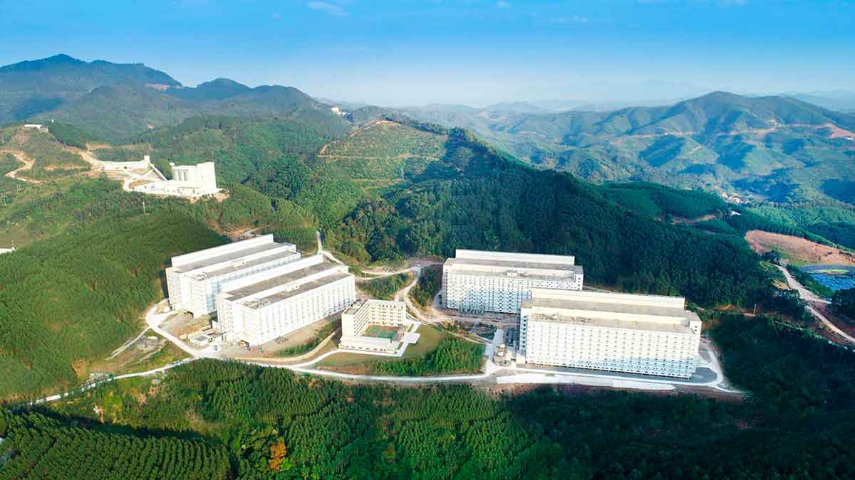 Hospital vacuna China