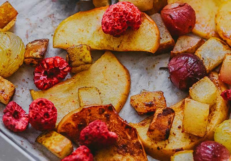 Fruta horneada Beatriz