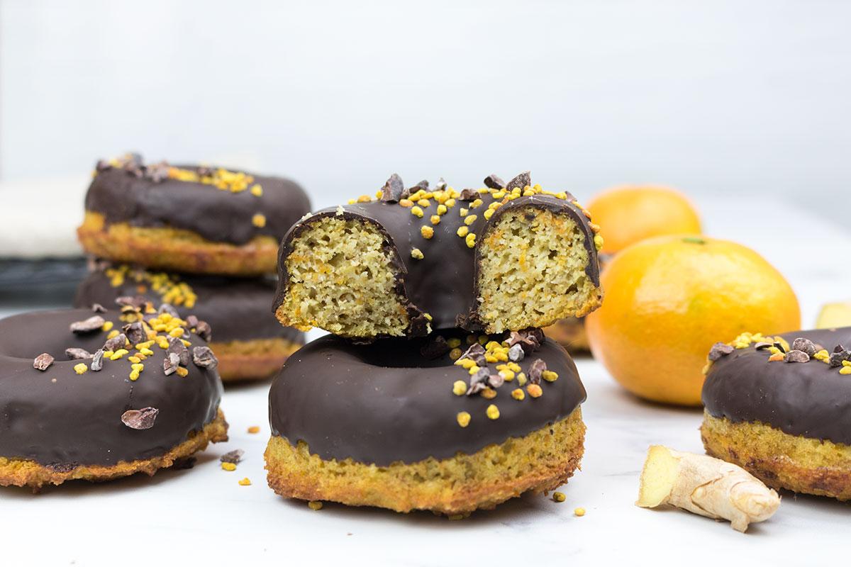 Donuts zanahoria