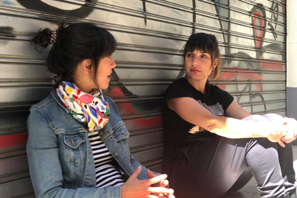 Pilar Rodrigáñez y Núria Coll
