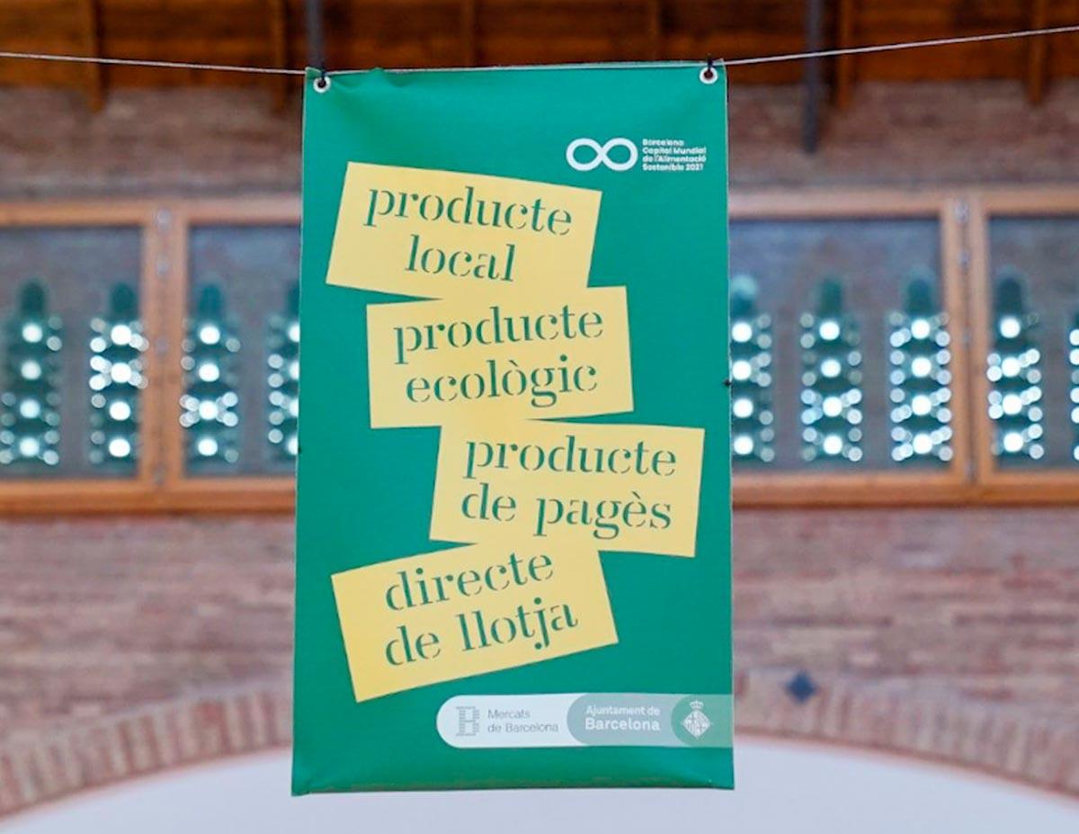 Llegan los comercios verdes a los mercados de Barcelona