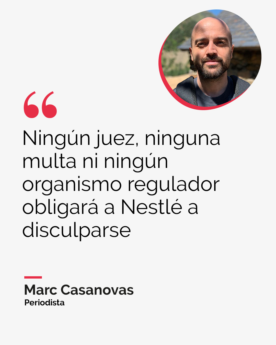 La perversidad del informe secreto de Nestlé