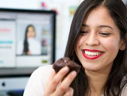 Auxy Ordóñez, bloguera especializada en postres saludables