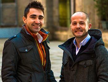 Jesús Sanchis y Xavi Cañellas, investigadores de la microbiota intestinal y patologías asociadas