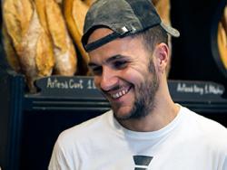 Jordi Morera, panadero ecológico de la Espiga d'Or, en Vilanova i la Geltrú