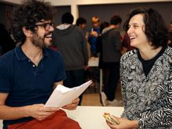 Ariadna Rodríguez e Iñaki Álvarez, creadores del espacio Nyamnyam