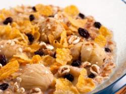 Sopa de cereales y castañas