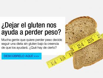 ¿Dejar el gluten nos ayuda a perder peso?