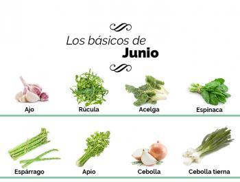 ¿Qué debemos comer en junio?