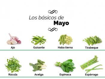 ¿Qué debemos comer en mayo?