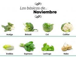 ¿Qué tenemos que comer en noviembre?