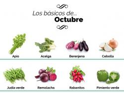 ¿Qué debemos comer en octubre?