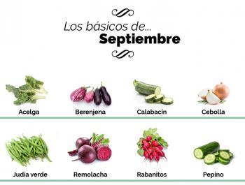 ¿Qué debemos comer en septiembre?