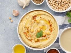 Hummus, la forma fácil y digestiva de tomar garbanzos