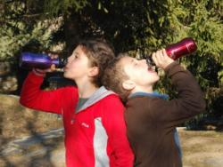 Cambia la botella de agua