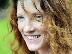 """Clémence Catz, blogger y autora de los libros """"Trigo sarraceno"""" y """"Chía, lino y psyllium"""""""