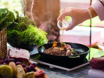 ¿Cocinar con alcohol es sano?