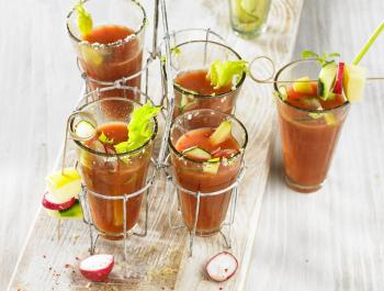 Un brunch refrescante: Coconut Bloody Mary