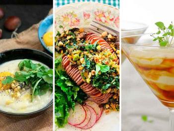 Especial otoño: ¡15 recetas para disfrutar de los alimentos de temporada!