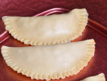 Crestas de piel de calabacín
