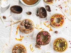 Los donuts que se convirtieron en miniroscos de Pascua