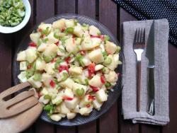 Ensalada de patata vegana