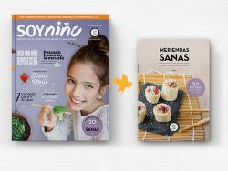 """La revista en papel """"SoyNiño"""" ayudará a pasar a la práctica con un recetario de meriendas sanas"""