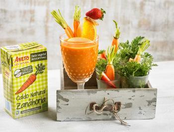 El caldo de zanahoria: la base estrella para las cremas frías de verano