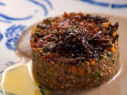 Hamburguesas vegetales – Emulsión de setas
