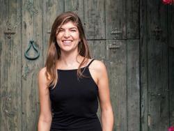 """Carla Zaplana, dietista-nutricionista y autora del libro y de la filosofía """"Come limpio""""."""