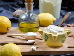 Mayonesa alcalinizante con proteína de girasol