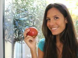 """Mareva Gillioz, dietista y conductora del curso online """"Alimentación healthy para principiantes"""""""