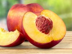 El melocotón y la nectarina