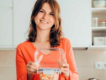 """Mireia Galtés, dietista, creadora de """"Lemon's Secrets"""" y autora del libro """"¡Cómete el mundo!"""""""