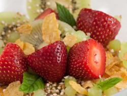 Mix de fruta fresca, cereales y semillas