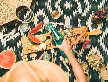Ideas veganas y vegetarianas para ir de picnic