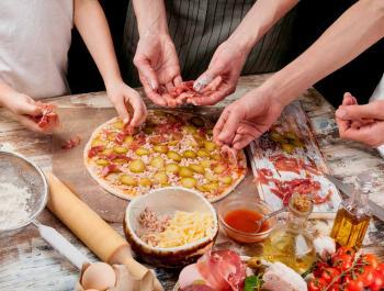 Pequeños cocineros, ¡a la cocina!