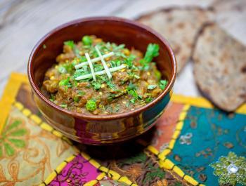 Rangoli: cocina vegana en un restaurante hindú