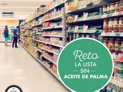 RETO: la lista de productos y marcas sin aceite de palma refinado