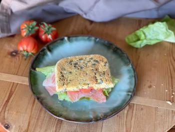 Sándwich 'low carb'