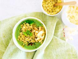 Sopa verde milagrosa