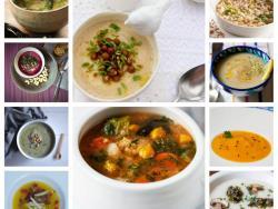 10 cremas y sopas de invierno con ingredientes de temporada